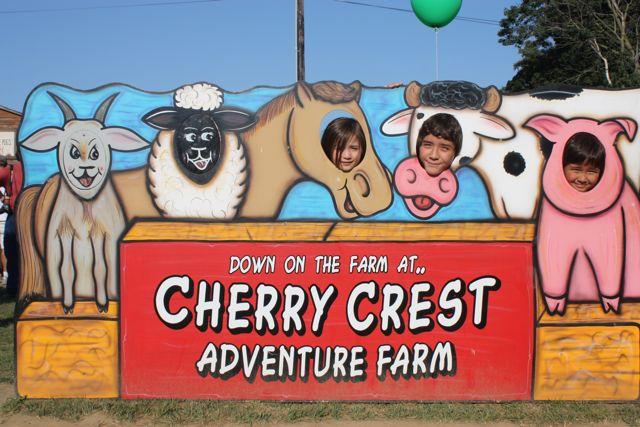kids at cherry crest adventure farm