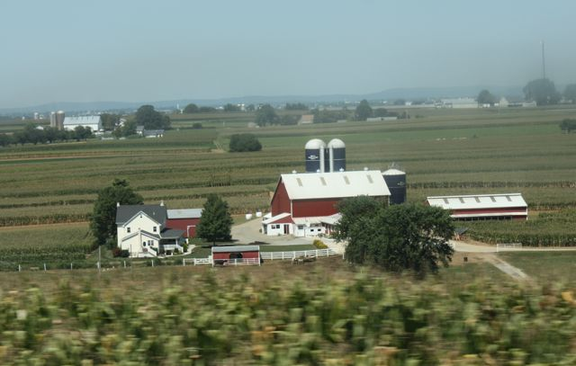 farm Lancaster County & the Strasburg Rail Road