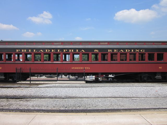 Philadelphia & Reading train passenger car