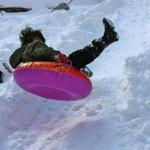 sledding jump