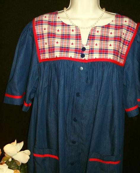 light cotton housecoat