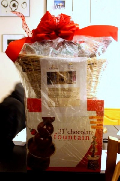basket full of chocolate goodness