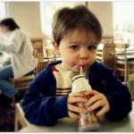 fast food chocolate milk