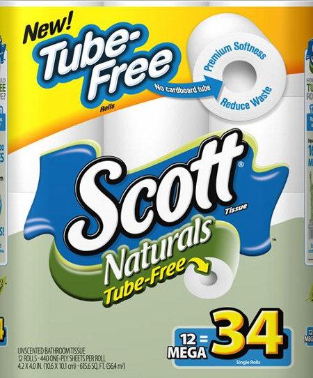 scott naturals no tube