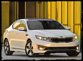 kia optima hybrid Green Driving: Kia Optima Hybrid