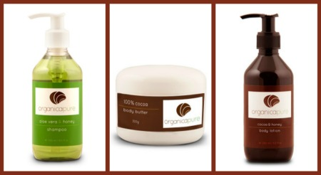 organicapure lotions shampoo