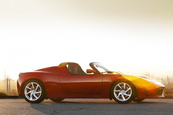 tesla roadster1 700x466 Green Cars 2013: 7 Eco Vehicles that Earn This Hippy Housewifes Seal of Approval