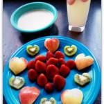 kid valentines day snack
