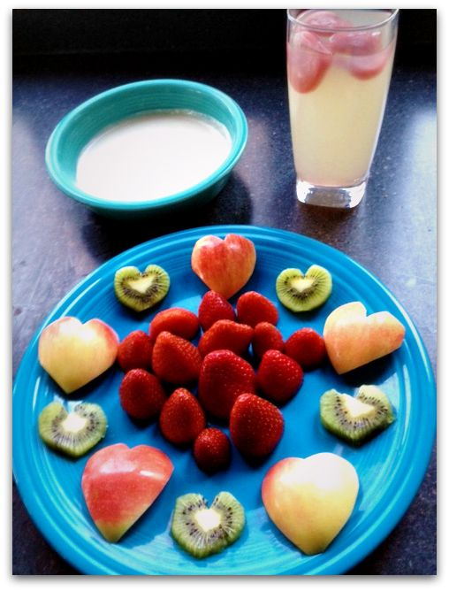 healthy valentines day snack Easy Healthy Valentines Day Snack, plus Heavenly Dip Recipe