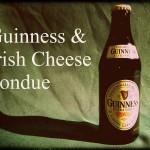 Guinness fondue