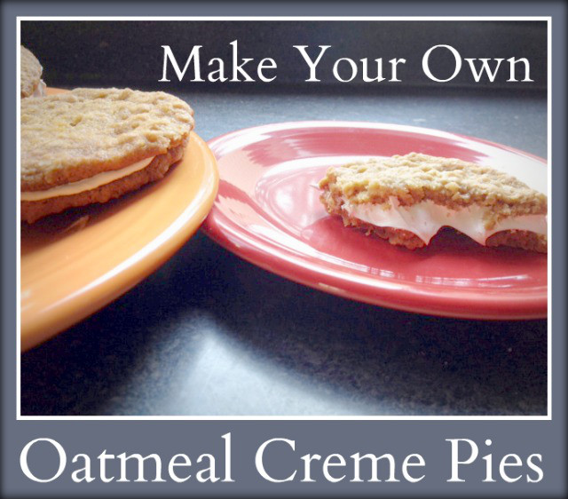 oatmeal creme pies Recipe: Homemade Oatmeal Creme Pies