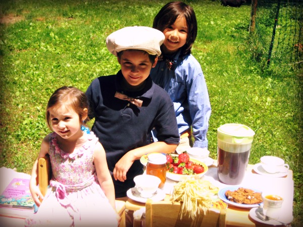 tea party picnic