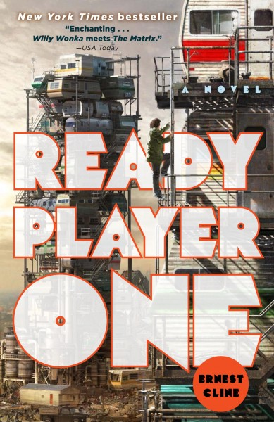 Ready Player One Paperback Jacket Image