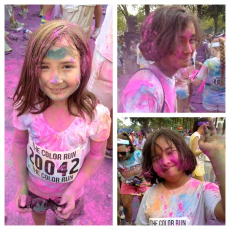 kids color run The Color Run: Tips, Photos, Video