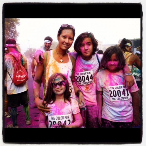 color run #fitfluential
