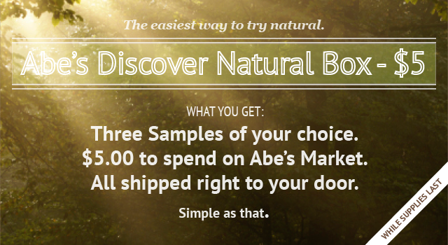 discover banner 5 Abes Market: Samples make great stocking stuffers!