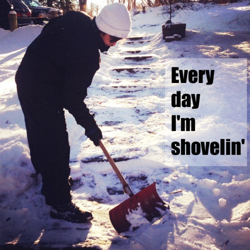 every day Im shoveling Gimme Some of That Great White Hype