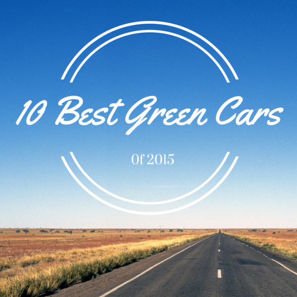 best green cars 2015