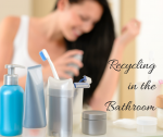 Recycling Beauty Products in the Bathroom (Amazon Gift Card Giveaway)