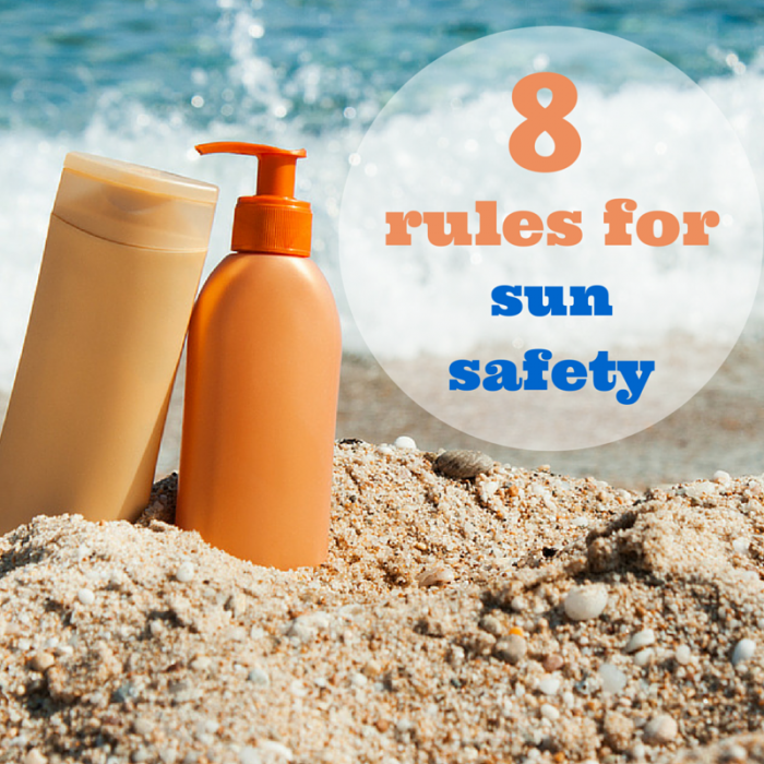 rules for sun safety