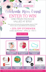 Celebrate Mom Event: Check Out This Belli Skincare Giveaway